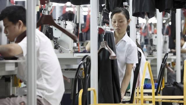 Harte Bedingungen für Arbeiter in der Bekleidungsindustrie (Symbolbild)