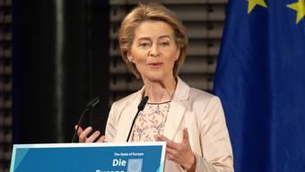 Die Deutsche will mit Bundesbern ein Rahmenabkommen verhandeln.