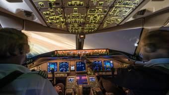 Airline-Piloten müssen regelmässig einen Check-Flüge absolvieren, um ihre Fluglizenz zu behalten.