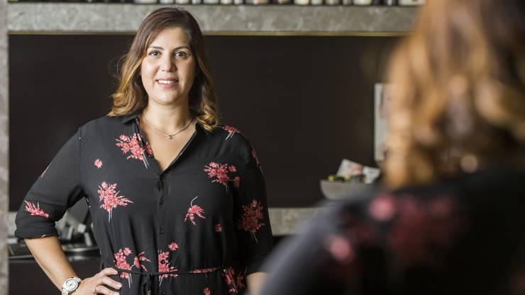 Seit 15 Jahren ist Beyza Tut Besitzerin ihres eigenen Schönheitssalons.
