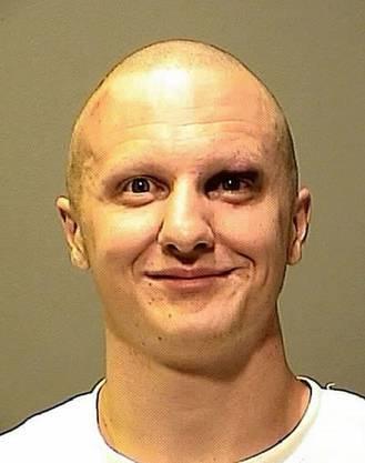 Das offizielle Bild nach seiner Festnahme.