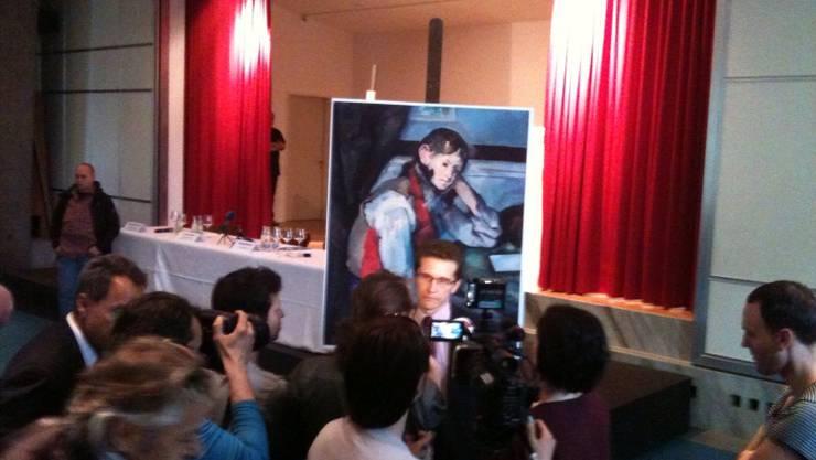 Der Cézanne ist zurück.