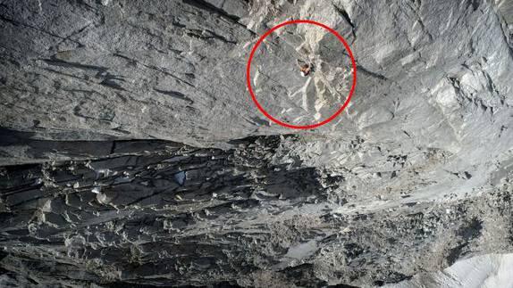 «Jeder Tritt, jeder Griff muss sitzen»: «Mammut»-Athlet gelingt Gewaltsleistung am Berg