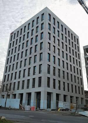 Der «KWC-Tower» ist der imposanteste Bau im mittleren Wynental.