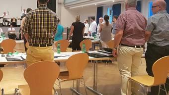 Mit 35 Ja- gegen 2 Nein-Stimmen bestätigten die Einwohnerrätinnen und -räte den Zusatzkredit. Fabio Vonarburg