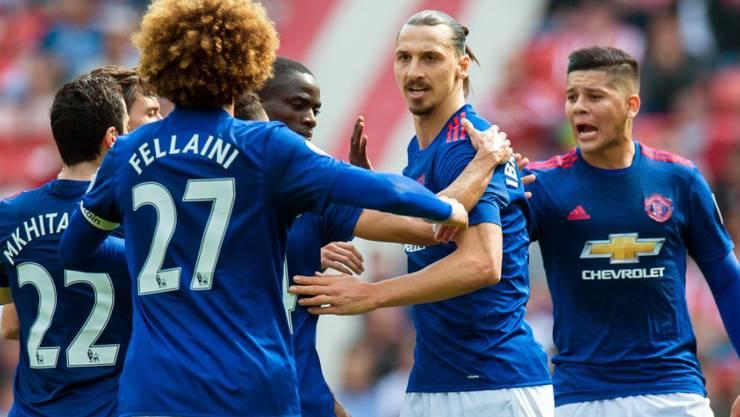 Auf die Tore von Zlatan Ibrahimovic kann sich Manchester United verlassen