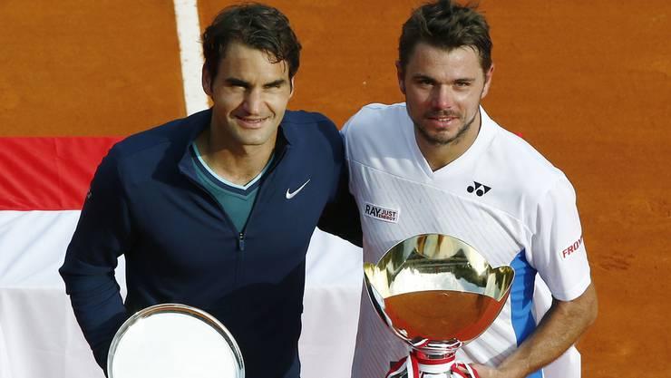 Roger Federer und Stan Wawrinka treffen im Halbfinal der Australian Open wieder aufeinander.