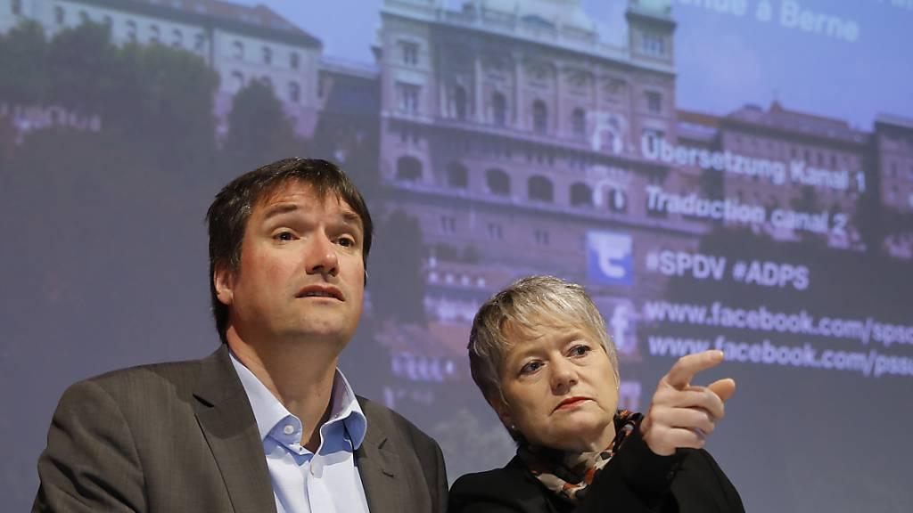 """""""Wir brauchen einen Wechsel"""": Die Zürcher SP-Regierungsrätin Jacqueline Fehr fordert den Rücktritt des Kollegen Christian Levrat an der Parteispitze. (Archivbild)"""