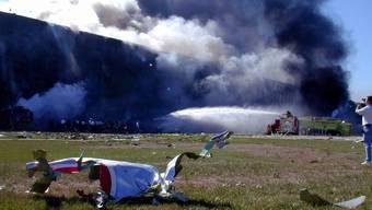 Verschwörungstheoretiker glauben, dass das Pentagon nicht von einem Linienflugzeug getroffen wurde