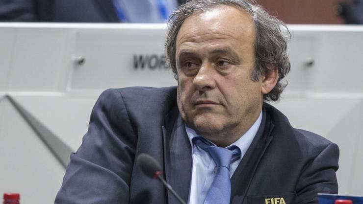 Michel Platini zieht seine Kandidatur zurück