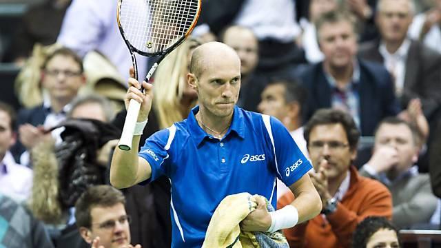 Nikolai Dawydenko fordert Roger Federer