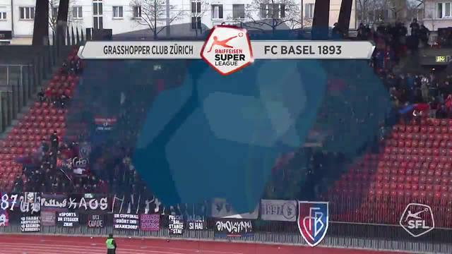 Videohighlights GC - FC Basel, 17.12.2017