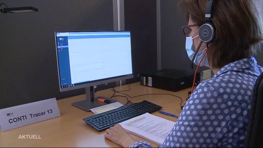 Massiver Abbau beim Contact Tracing im Aargau
