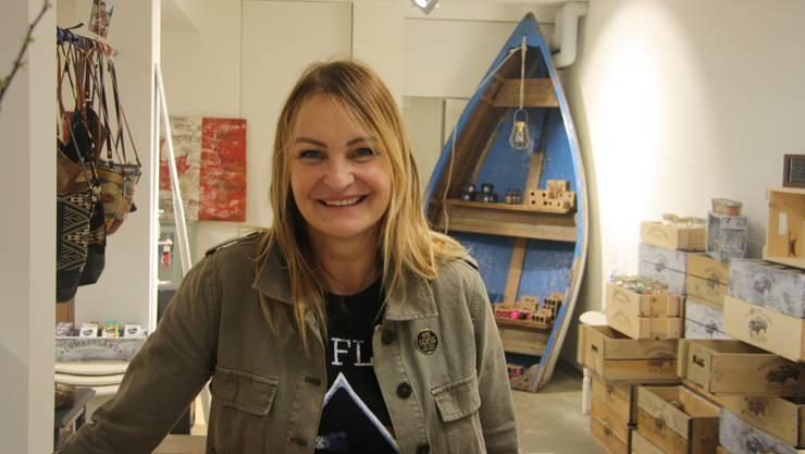 Margot Kaufmann hat an der Judengasse ihr Geschaft Needful Store & more eröffnet.