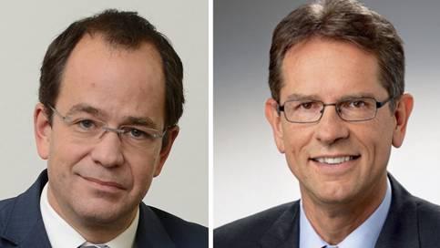 Daniel Stolz und Markus Lehmann.