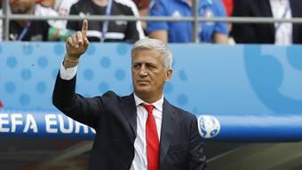 Will gegen Frankreich die Achtelfinal-Qualifikation unter Dach und Fach bringen: Nati-Coach Vladimir Petkovic