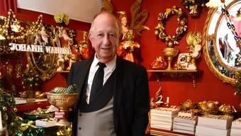 Johann Wanner: Mit seinen Weihnachtsbaumdekorationen und seinem handgefertigten Weihnachtsschmuck eroberte er von Basel aus die Welt.
