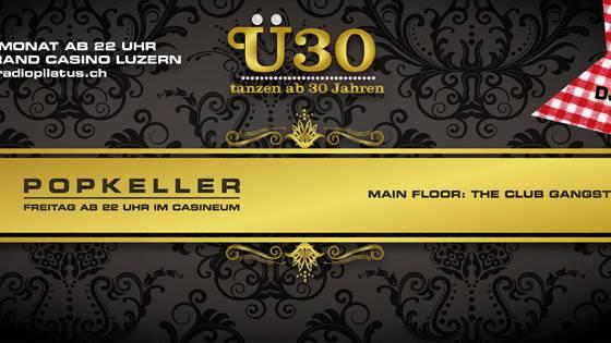 Ü30 Popkeller Party mit DJ Maik Wisler