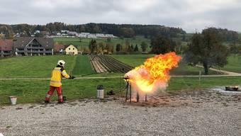 Hauptübung der Feuerwehr Birmensdorf-Aesch