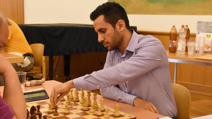 Derzeit sehr gut in Form: die Riehener Nummer vier, der Internationale Meister Ioannis Georgiadis.