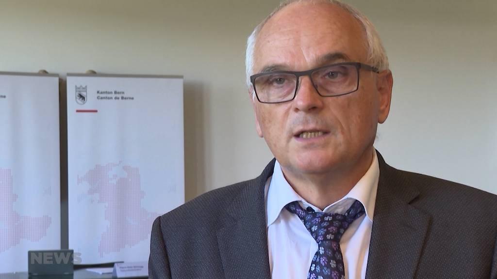 Vertuschte Corona-Zahlen: Gesundheitsdirektor Schnegg weist Vorwürfe zurück