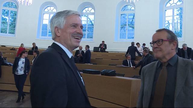 Bernhard Scholl ist neuer Grossratspräsident