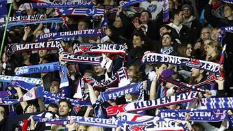 Die Fans von Kloten haben allen Grund zum Jubeln.