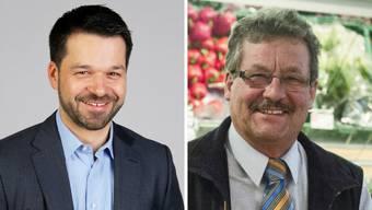 Das sind die beiden neuen Liestaler Stadtratskandidaten: Daniel Spinnler (links) und Beat Gränicher.