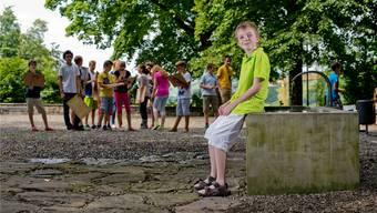 «Habe mich gut in die Klasse integriert», sagt Maximilian Janisch, seit einem Jahr in der Klasse 1a des Gymnasiums Immensee.
