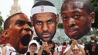 Von Tausenden gefeiert: Miami Heat