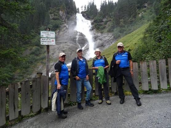 Wanderung entlag der Kimmler Wasserfälle am Freitag