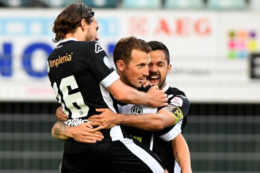 Lugano gewinnt gegen den FC St.Gallen (© Keystone)