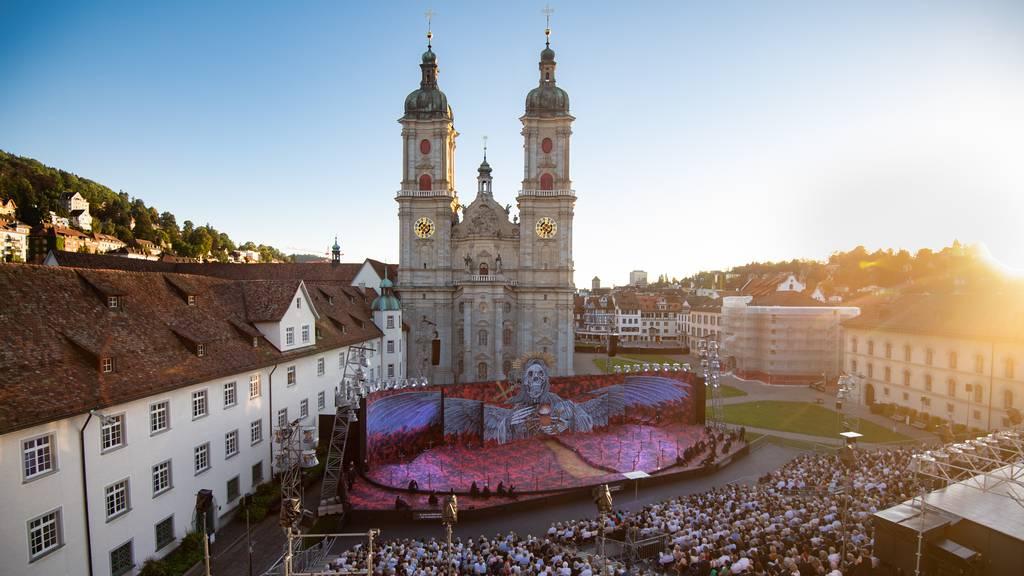 St.Galler Regierung verteidigt Festspiele auf Klosterplatz
