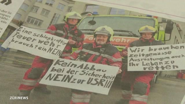 FDP-Schelte für Feuerwehr-Aktion gegen USR III