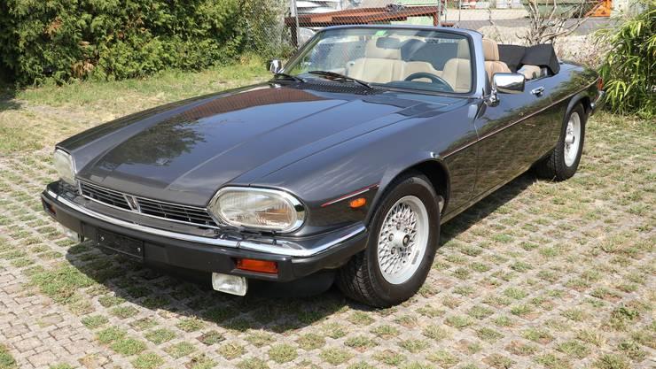 Versteigert werden: Dieser Jaguar XJ-SC V12 Convert,
