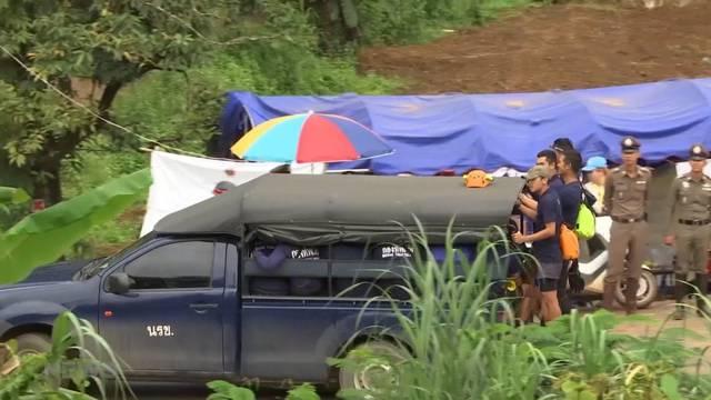 Vier weitere Jungs aus Thailand-Höhle gerettet