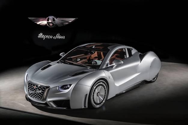 """""""Carmen"""", zelebriert das Comeback von Hispano Suiza. 19 Stück des 1019 PS starken Elektro-Renners sollen gebaut werden."""