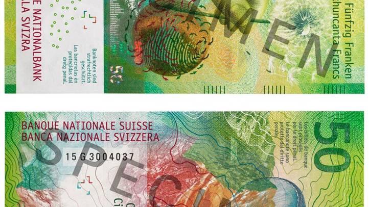 Gefälschte 50er-Noten im Umlauf