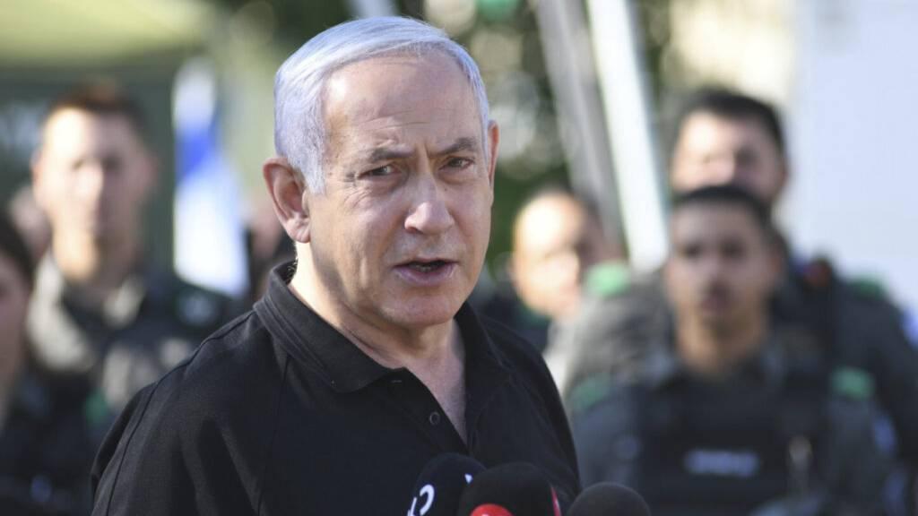 Netanjahu ruft zu Widerstand gegen künftige Regierung auf
