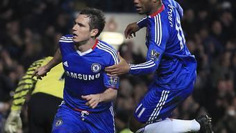 Frank Lampard sorgte für Chelseas Siegtor