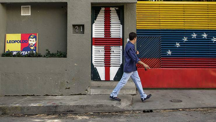 Aus diesem Haus in Caracas wurde der venezolanischen Oppositionspolitiker Leopoldo Lopez abgeführt und in ein Militärgefängnis gebracht.