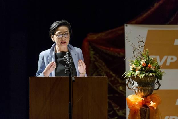 Weitere Impressionen vom Nominationsparteitag der Aargauer CVP.
