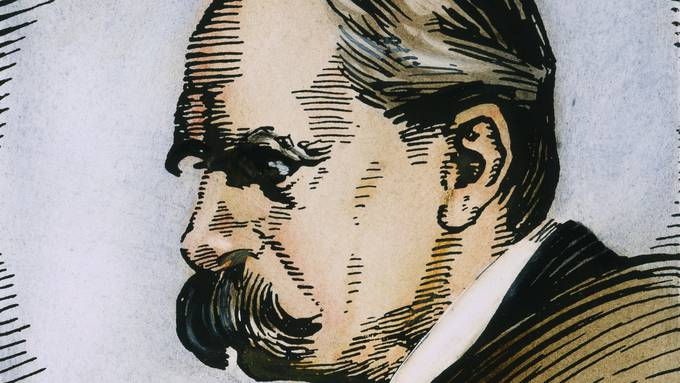 Friedrich Nietzsche (1844–1900). Bild: Keystone/The Granger Collection
