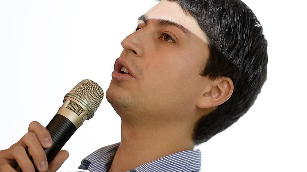 JUSO-Präsident Fabian Molina will für seine Partei zwei zusätzliche Sitze im Nationalrat erkämpfen. (Archivbild)