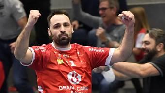 Vertrag nicht verlängert: Rückraumspieler Nemanja Sudzum läuft künftig nicht mehr für den TV Endingen auf.