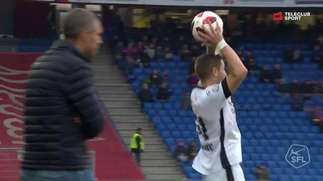 Super League, 2018/19, 13. Runde FC Basel - Lugano 2:0 Kevin Bua