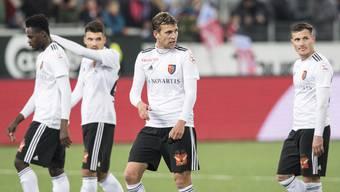 Impressionen vom Super-League-Spiel FC Thun - FC Basel (10.11.2018)
