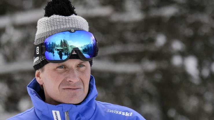 Swiss-Ski-Präsident Urs Lehmann kann sich über eine weitere Medaille an der Junioren-WM freuen