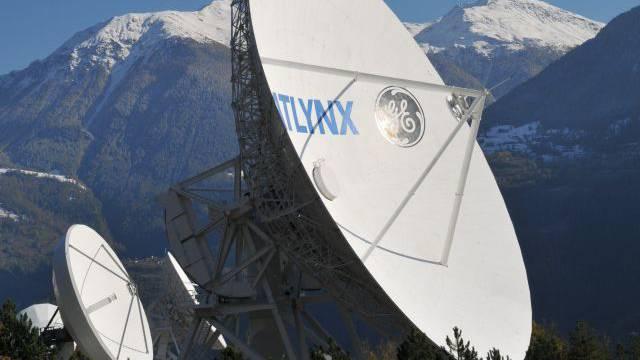 Das Schweizer Abhörsystem Onyx sammelt von Leuk VS und Heimenschwand BE aus riesige Mengen an Daten. Foto: Keystone