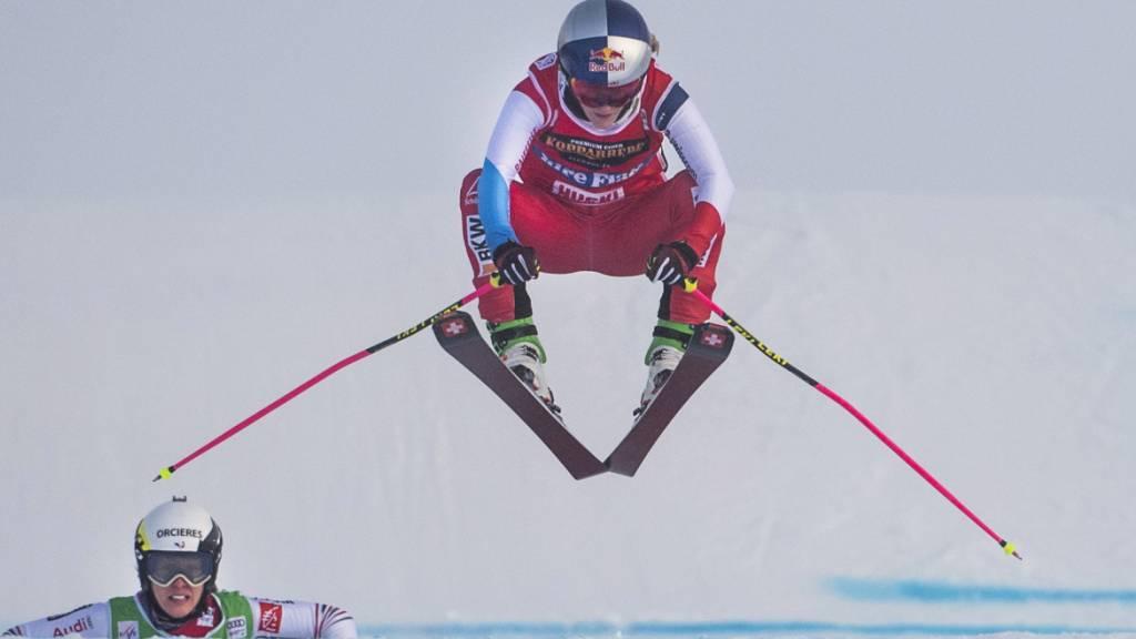 Fanny Smith und Jonas Lenherr gewinnen ersten Mixed-Teamwettkampf